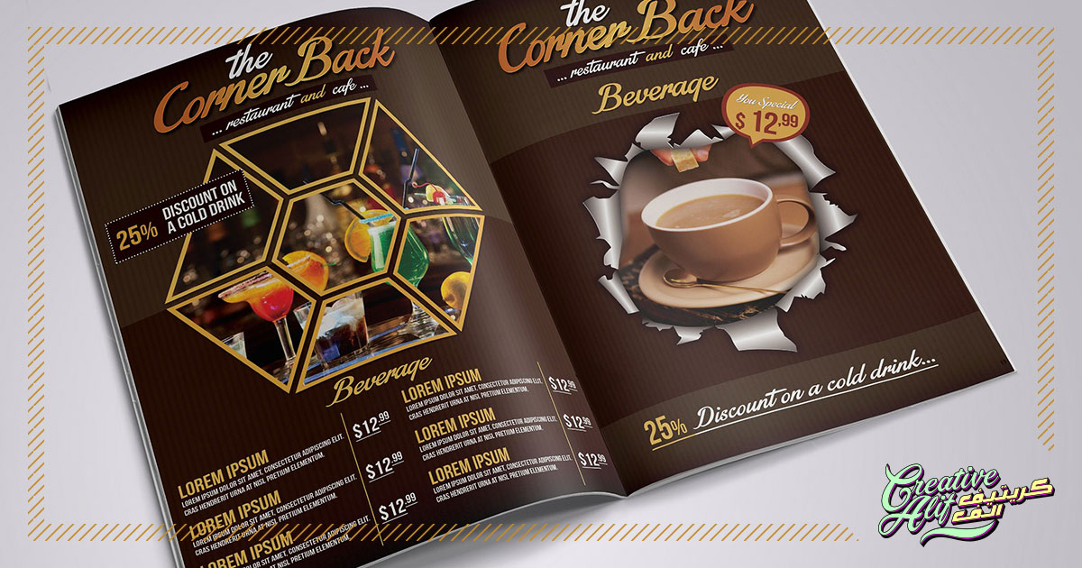 Menu Card Designs That Appeal To Customers Creativealif